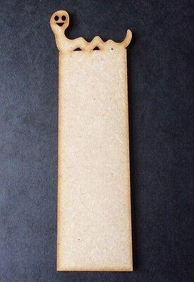 10 X Bookworm Book Mark Wooden Craft Shape Blanks 150 X 40 X 3mm Mdf Wood