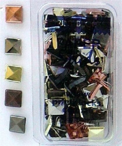 Choose from 14 Designs PAPER STUDS//BRADS Embellishments Card Making NEW