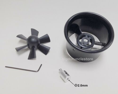 267b:1 set 55mm Electric Ducted Fan Ø2.0mm Military,A-10 ,for RC Warbird EDF