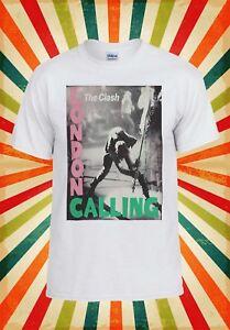 The Clash London Calling English Punk Rock Band Men Women Unisex T-shirt 48