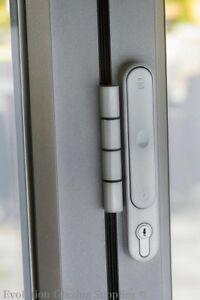 ALUK ALUMINIUM BI-FOLDING DOOR HANDLE (WHITE)   eBay