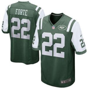 Men-039-s-New-York-Jets-Matt-Forte-Nike-Green-Game-Jersey-Size-Large-NEW