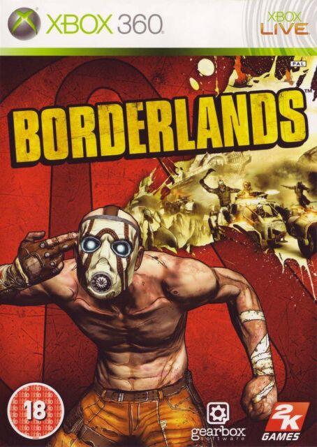 Microsoft Xbox 360 jeu - Borderlands ANGLAIS dans l'emballage utilisé