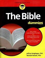 The Bible for Dummies by Jeffrey Geoghegan and Michael Homan (2016, Paperback)