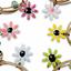 miniature 2 - Bracelet Flower Daisy Beads Girls Ceramic Charm Jewellery Silver Ankle Girls