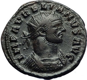 AURELIAN-with-JUPITER-Authentic-Ancient-Genuine-272AD-Rome-Roman-Coin-i70732