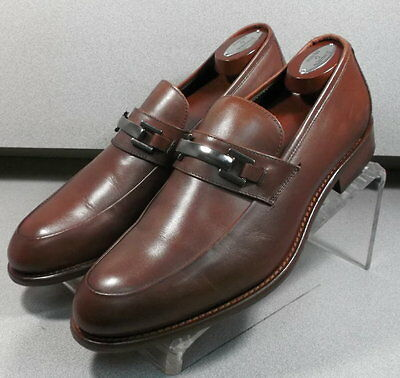 240830 PFi60 Men/'s Shoes Size 11 M Brown Leather Made in Italy Johnston /& Murphy