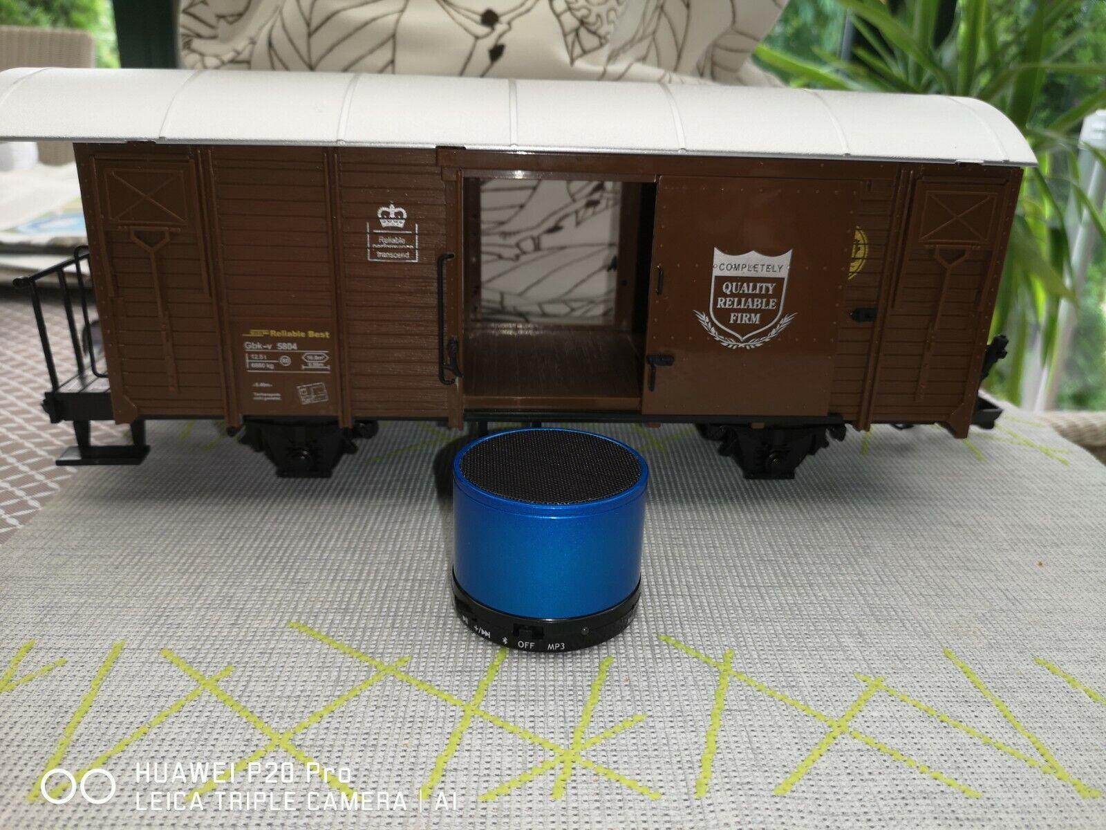 Para el vagón de Cochega LGB NEWQIDA con altavoz azultooth, el sonido del sistema nuevo