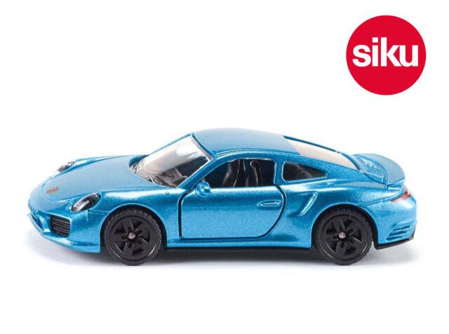 Siku 1506 Porsche 911 Turdo S Sports Car with Opening Doors Die-Cast Model Toy