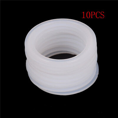 """10Pcs 2/"""" Sanitary Clamp Silicon Gasket Fits 64mm OD Type Ferrule Flange SU"""
