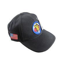 BLACK US WW2 506th CURRAHEES BASEBALL CAP -ONE SIZE