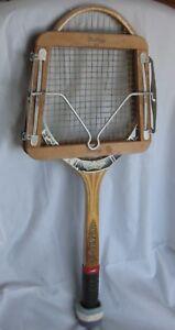 "Vintage DUNLOP MAXPLY tennis racket ""TOURNAMENT GRAPHITE"" & Press"