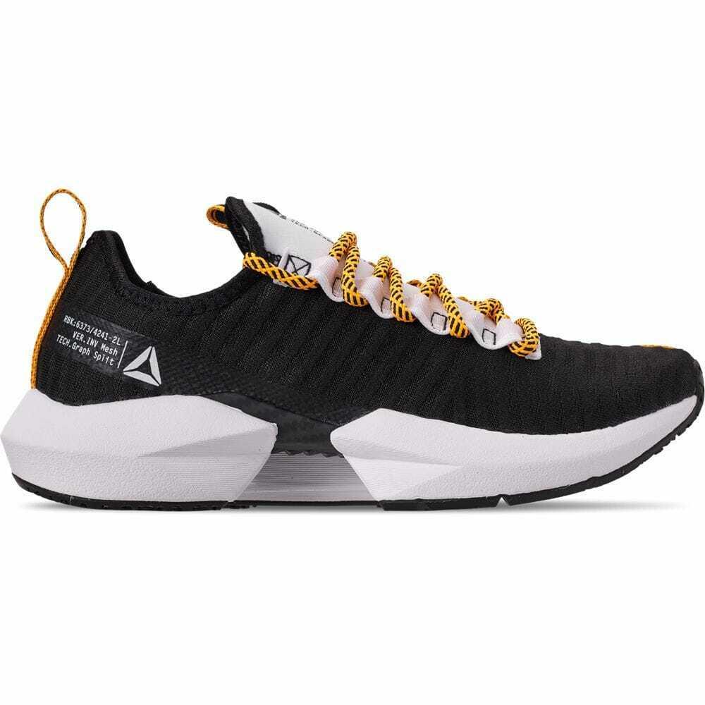 Para Hombres Zapatos informales Reebok Sole Fury SE Negro blancoo Amarillo DV6919 BWG