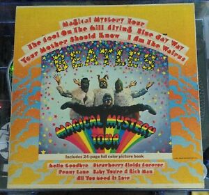 The Beatles Magical Mystery Tour Stereo 1969 Reissue Green Label LA Pressing