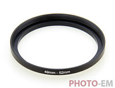 49 mm - 52 mm Filter Adapter Step Up Ring Filteradapter  Z-0457