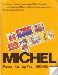Michel-Europa-Katalog-West-1989-90-A-L