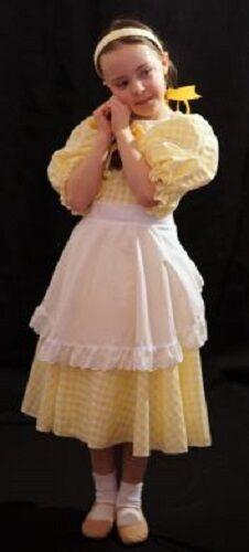 Giornata mondiale del libro-Robert Southey-Girls-Deluxe Riccioli D/'Oro Costume-Bambino più grande