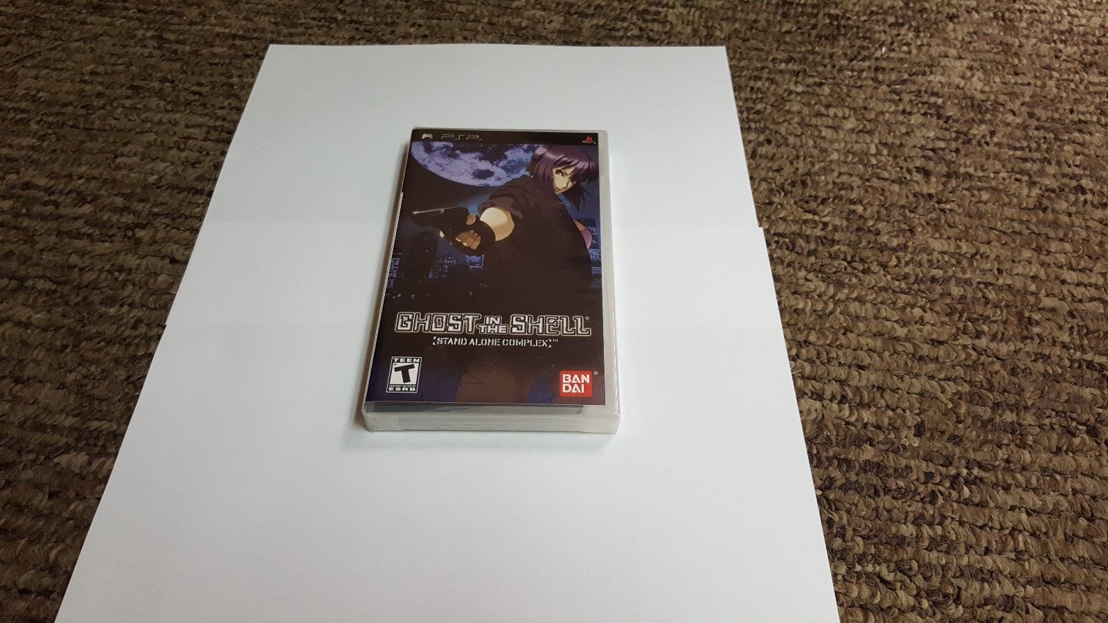 Ghost In The Shell Stand Alone Complex Sony Psp 2005 For Sale Online Ebay