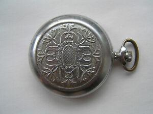 Ussr SOVIET POCKET Watch Molnija 18 Jewels - Serviced