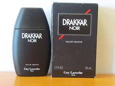 Vintage Drakkar Noir By Guy Laroche 1.7 oz Eau De Toilette Splash Old Formula