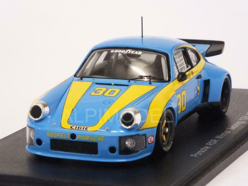Porsche RSR Winner 12h Sebring 1977 Dyer - Frisselle 1 43 SPARK 43SE77
