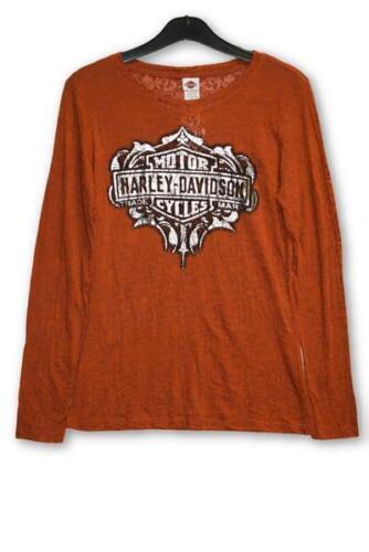 Genuine Harley Davidson Ladies Vanderessa Long Sleeve T-Shirt
