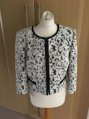 Eight Matilda Lace scuro Fab Bnwt blu Phase 145 e 14 bianco Taglia £ Jacket qZAEaxtw