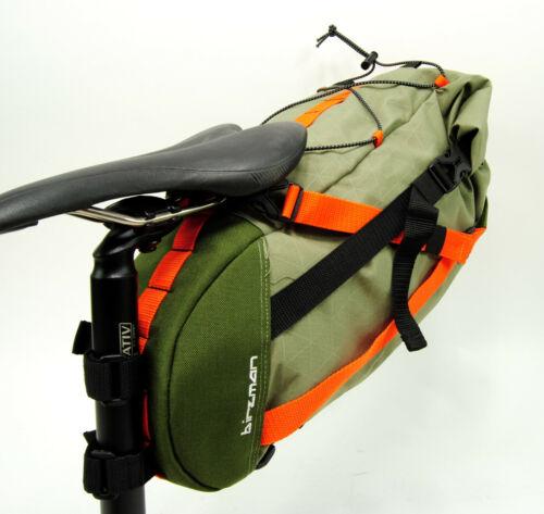 Birzman Packman Bicycle Large Saddle//Seat Bag Pack Green 6L
