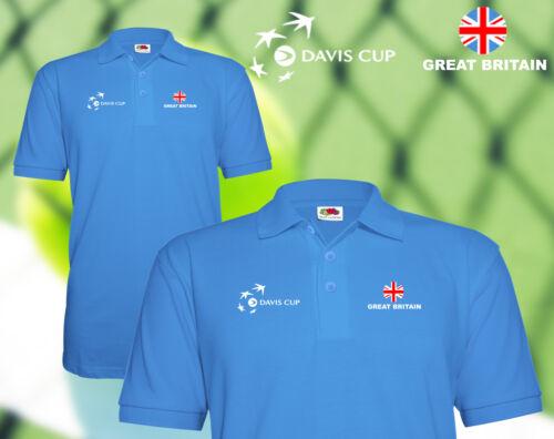 Davis cup Tennis polo shirt Great Britain