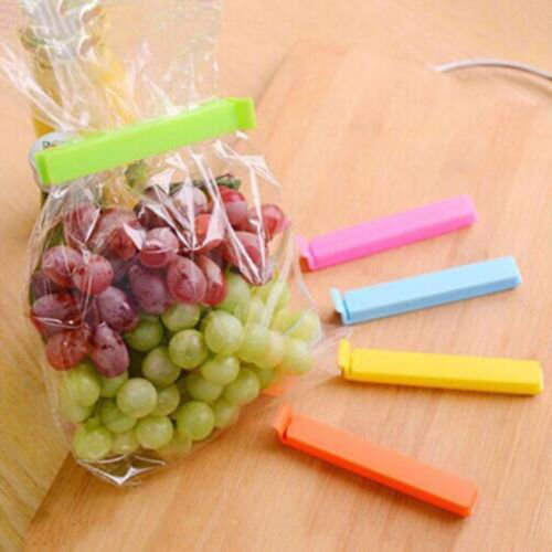20 pcs Kitchen Storage Food Snack Seal Sealing Bag Clips Clamp-Plastic//