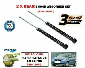 FOR SEAT LEON 1P1 2005--/>ON 1.2 1.4 1.6 1.8 1.9 2.0 2x REAR SHOCKS ABSORBER SET