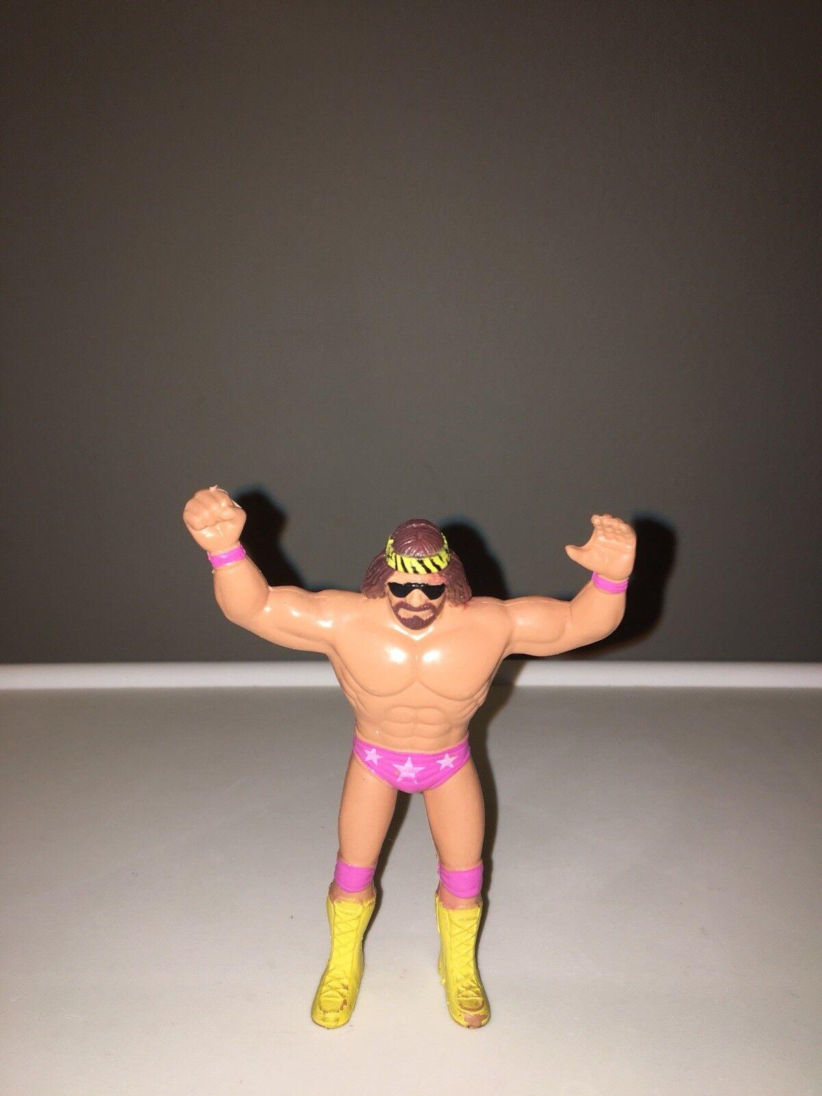 Macho Man 4 Inch Bendie Bendie Bendie WWF LJN c1d1df