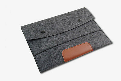 "Ultrabook Felt 11""13""15"" Laptop Sleeve Case Notebook Cover For Macbook Air Pro"