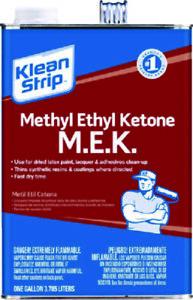 Details about Klean Strip Methyl Ethyl Ketone Substitute 1 Gal Thinner For  Specified Coating