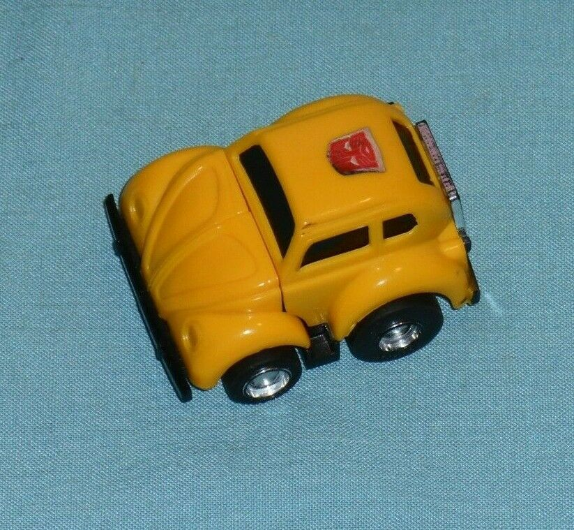 G1 Original Amarillo Transformers Bumblebee 100% completo  2 (círculo temprano Sello)