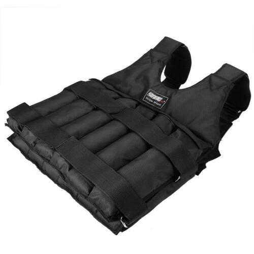 20//50kg Loading Weighted Adjustable Weight Fitness Training Exercise Waistcoat