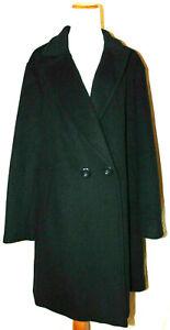 Rachel Roy Women's Plus Size Wool Blend Coat, Navy, Wool Blend Peacoat Jacket~1X