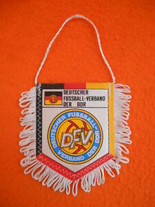 SéRieux Ddr Fanion Banderin Pennant Wimpel True Vintage 80 Germany Der Dfv Rfa Uefa Fifa