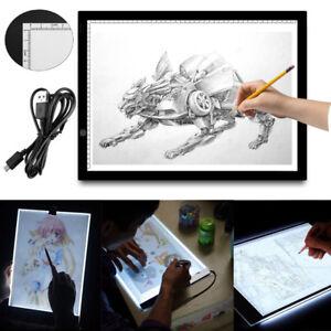 LED-A3-Lichttisch-Leuchttisch-Leuchttablett-dimmbar-Leuchtplatte-Grafiktablett
