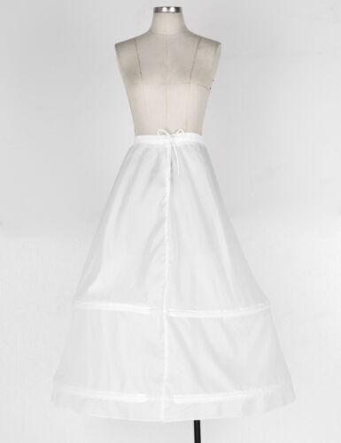 Womens Wedding Petticoat Slip Crinoline Underskirt Under dress Bridal Underskirt