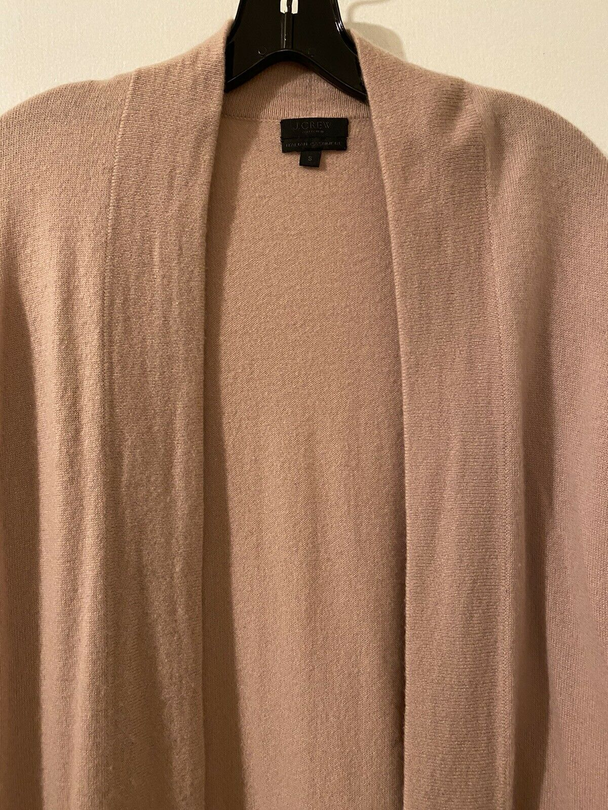 J. Crew Collection Cashmere Open Cardigan Size S … - image 2