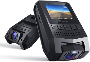 Crosstour Mini Dash Cam 1080P FHD Car Camera