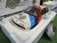 BMW M3 Class Winner CALDER WTC 1987 RAVAGLIA echelle 1/18 d MINICHAMPS 180872046