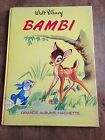 BAMBI (1969) grands albums hachette walt disney