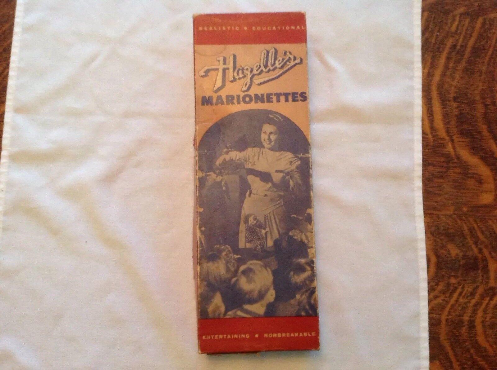 negozio di vendita outlet HAZELLE'S HAZELLE'S HAZELLE'S Vintage Marionette Bimbo The Clown In Original scatola  l'ultimo