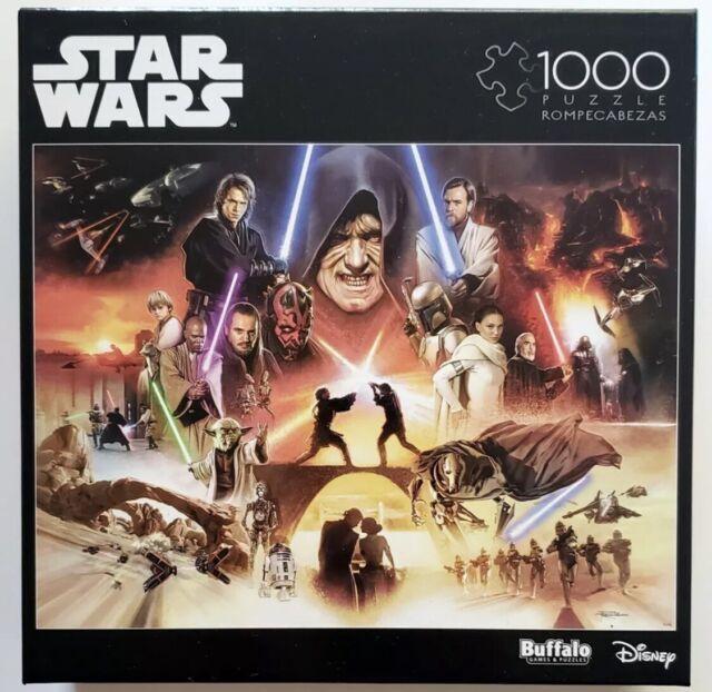 """Disney Star Wars Buffalo 1000 Piece Puzzle """"I SENSE GREAT FEAR IN YOU SKYWALKER"""""""