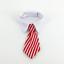 thumbnail 4 - Pet Dog Bow Tie Collar Adjustable Striped Necktie Party Wedding Gravata Grooming