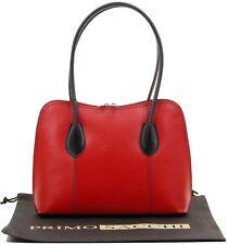 9ab851e4d494 Italian Smooth Leather Classic Style Handbag Tote Grab Bag or Shoulder Bag