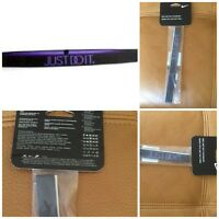 Nike Just Do It Pro Headband $13.00 Gray/violet Unisex