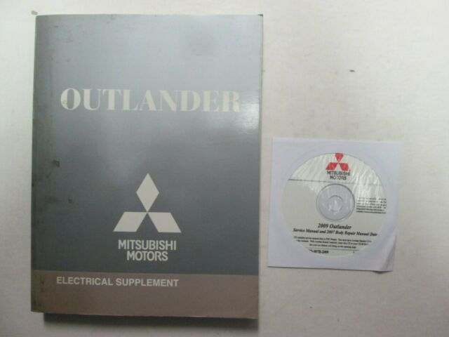 2009 Mitsubishi Outlander Service Manual Cd W   Electrical